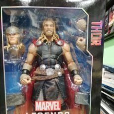 Figuras y Muñecos Marvel: MARVEL LEGENDS THOR. SERIE 30 CM. TOTALMENTE ARTICULADO Y GRAN DETALLE. Lote 204054010