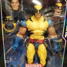 Figuras y Muñecos Marvel: MARVEL LEGENDS LOBEZNO. SERIE 30 CM. TOTALMENTE ARTICULADO Y GRAN DETALLE. Lote 204054115
