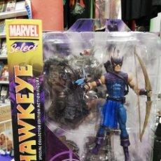Figuras y Muñecos Marvel: MARVEL SELECT. OJO DE HALCON 18 CM. TOTALMENTE ARTICULADO Y GRAN DETALLE. Lote 204054325