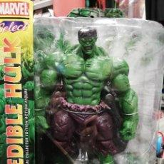 Figuras y Muñecos Marvel: MARVEL SELECT. HULK VERDE 25 CM. TOTALMENTE ARTICULADO Y GRAN DETALLE. Lote 204054617