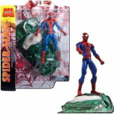 Figuras y Muñecos Marvel: SPIDERMAN FIGURA 18 CM MARVEL SELECT DIAMOND SELECT TOYS. Lote 204314951