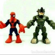 Figuras y Muñecos Marvel: SUPER HERO SQUAD, NUEVO, SPIDER-MAN RHINO MARVEL PLAYSKOOL RINO SPIDERMAN. Lote 204443516