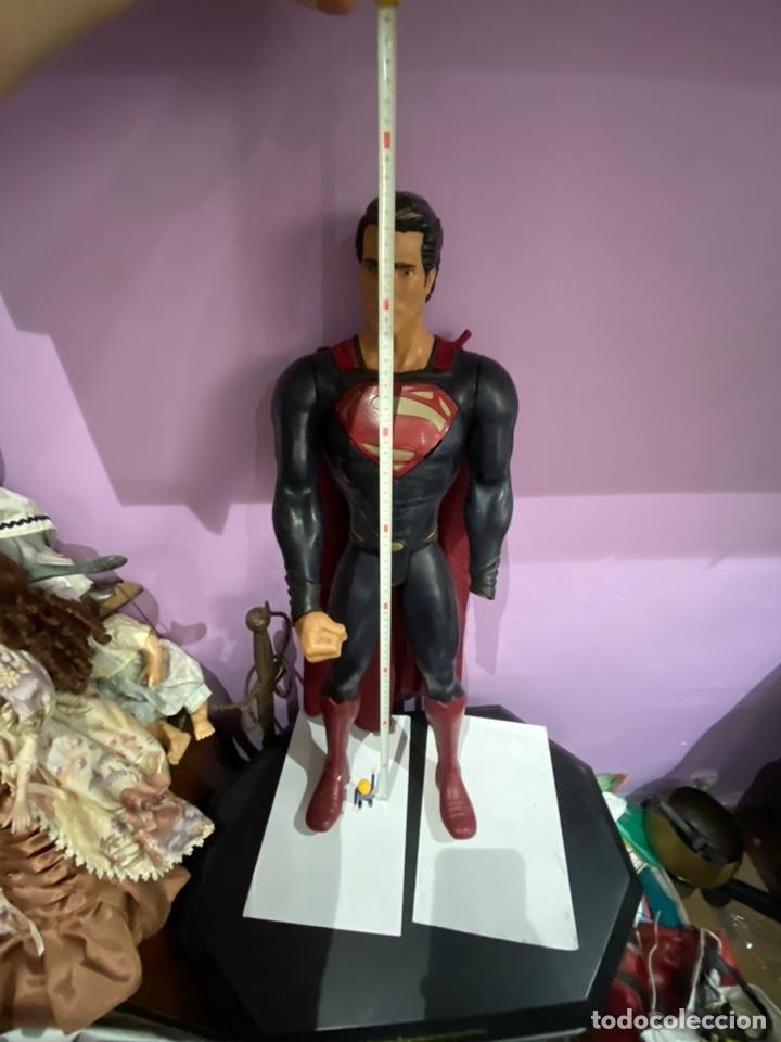 Figuras y Muñecos Marvel: ESPECTACULAR FIGURA DE SUPERMAN 80CM.MARCADO TM & DC COMICS JAKKS PACIIC - Foto 2 - 205693325