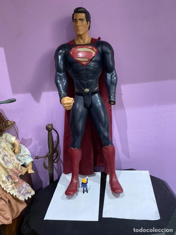 ESPECTACULAR FIGURA DE SUPERMAN 80CM.MARCADO TM & DC COMICS JAKKS PACIIC (Juguetes - Figuras de Acción - Marvel)