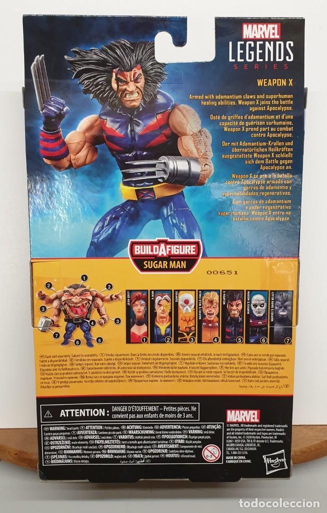 Figuras y Muñecos Marvel: ARMA-X - THE AGE OF APOCALYPSE - MARVEL LEGENDS SERIES SUGAR MAN / LOBEZNO FIGURA NUEVA - Foto 3 - 206317368