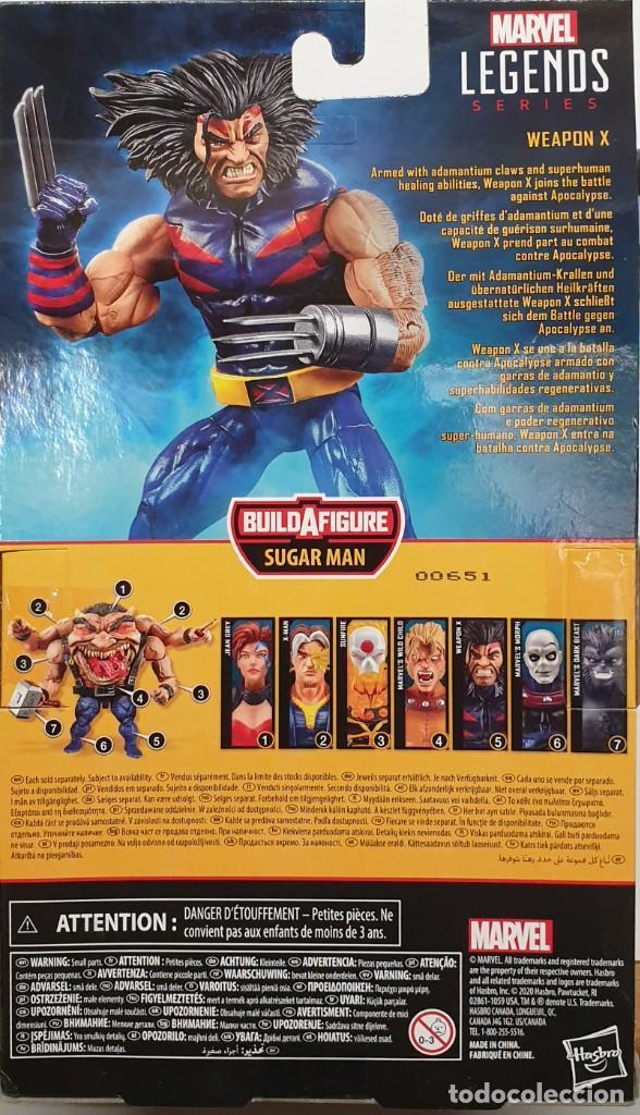 Figuras y Muñecos Marvel: ARMA-X - THE AGE OF APOCALYPSE - MARVEL LEGENDS SERIES SUGAR MAN / LOBEZNO FIGURA NUEVA - Foto 4 - 206317368