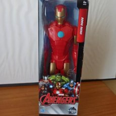 Figuras y Muñecos Marvel: FIGURA IRON MAN MARVEL AVENGERS. HASBRO 30 CMS. NUEVO EN CAJA SIN ABRIR. Lote 206326226
