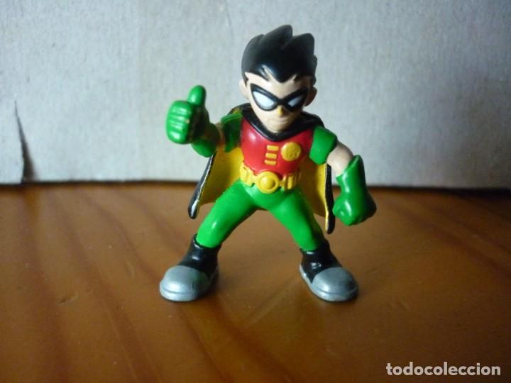 MINI FIGURA DE ROBIN - DC COMICS - 3,5 CM (Juguetes - Figuras de Acción - Marvel)