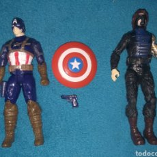 Figuras y Muñecos Marvel: MARVEL FIGURA CAPITÁN AMÉRICA Y SOLDADO DE INVIERNO. Lote 206471942