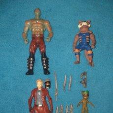 Figuras y Muñecos Marvel: MARVEL LOTE FIGURAS LOS GUARDIANES DE LA GALAXIA. Lote 206472180