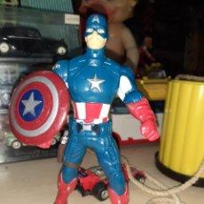 Figuras y Muñecos Marvel: CAPITAN AMÉRICA.HASBRO,CON CINTURA GIRATORIA.. Lote 207219276