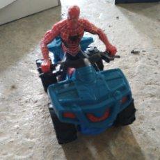 Figuras y Muñecos Marvel: MOTO DE SPIDERMAN Y SPIDERMAN. Lote 207373812