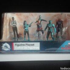 Figuras y Muñecos Marvel: -CAPITANA MARVEL- FIGURE PLAYSET-6 FIGURAS-. Lote 209210268