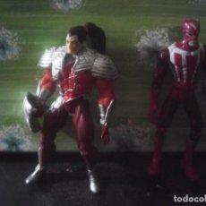 Figuras y Muñecos Marvel: LOTE 2 FIGURAS MARVEL TOY BIZ FUEGO SOLAR SUNFIRE. Lote 209978956