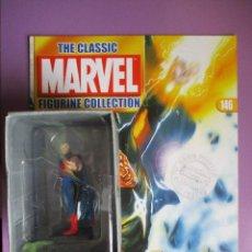 Figuras y Muñecos Marvel: FIGURA DE PLOMO MARVEL QUASAR Nº 146 , CON CAJA Y REVISTA. Lote 210520828