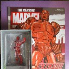 Figuras y Muñecos Marvel: FIGURA DE PLOMO MARVEL CRIMSON DYNAMO Nº 122 , CON CAJA Y REVISTA. Lote 210522001