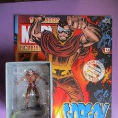 Figuras y Muñecos Marvel: FIGURA DE PLOMO MARVEL GORGON 127 , CON CAJA Y REVISTA. Lote 210522157