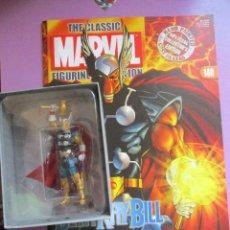 Figuras y Muñecos Marvel: FIGURA DE PLOMO MARVEL BETA RAY BILL Nº 151 , CON CAJA Y REVISTA. Lote 210522640