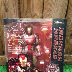 Figuras y Muñecos Marvel: S.H.FIGUARTS IRON MAN MARK 43 AGE OF ULTRON BANDAI. Lote 210623070