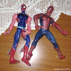 Figuras y Muñecos Marvel: LOTE DOS MUÑECOS SPIDERMAN DE MARVEL. Lote 210961344