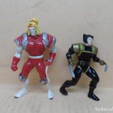 Figuras y Muñecos Marvel: FIGURAS MARVEL SPY WOLVERINE VS OMEGA RED (STEEL MUTANTS) 1994 TOY BIZ. Lote 211850020