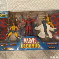 Figuras y Muñecos Marvel: MARVEL LEGENDS. X-MEN LEGENDS. PACK DE 5 FIGURAS. INCLUYE SU CÓMIC.. Lote 211996750