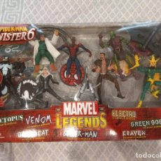 Figuras y Muñecos Marvel: MARVEL LEGENDS. SPIDER-MAN VS SINISTER 6. PACK DE 7 FIGURAS. INCLUYE SU CÓMIC.. Lote 211998451