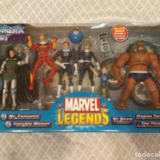 Figuras y Muñecos Marvel: MARVEL LEGENDS. FANTASTIC FOUR. PACK DE 7 FIGURAS. INCLUYE SU CÓMIC.. Lote 211999621