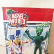 Figuras y Muñecos Marvel: MARVEL WORLD NUEVO FAMOSA THOR ABOMINACION ABOMINATION TIPO PLAYMOBIL LEGO. Lote 212235655