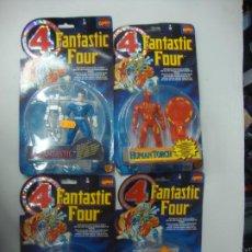 Figuras y Muñecos Marvel: MARVEL FANTASTIC FOUR BY TOY BIZ TODO EL GRUPO 4 FIGURAS. Lote 213009083