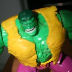 Figuras y Muñecos Marvel: MUÑECO HULK LA MASA 1998 MARVEL. Lote 213084265
