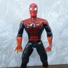 Figuras y Muñecos Marvel: FIGURA DE ACCION MARVEL SPIDERMAN 30CM TRANSLUCIDO TOY BIZ VINTAGE AÑOS 90. Lote 213270840
