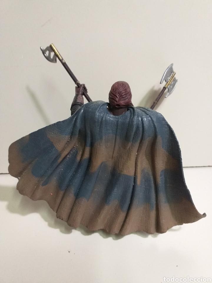 Figuras y Muñecos Marvel: Figura Articulada Marvel. el señor de los anillos, enano Gimli. 2002 - Foto 2 - 213502048