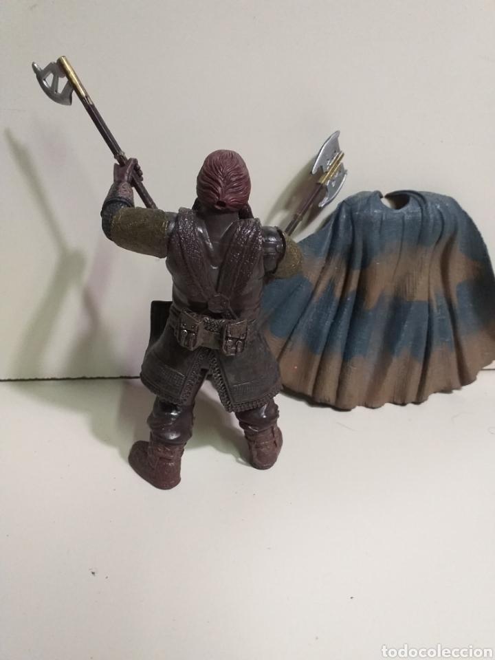 Figuras y Muñecos Marvel: Figura Articulada Marvel. el señor de los anillos, enano Gimli. 2002 - Foto 3 - 213502048