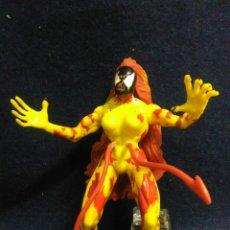 Figuras y Muñecos Marvel: RARA FIGURA MARVEL ARTICULADA DE GOMA PERSONAJE VENOM. Lote 214217720