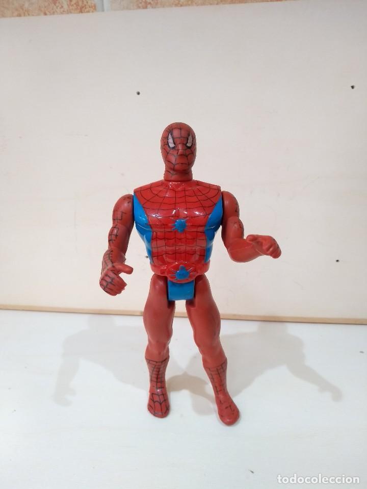 MUÑECO ACCION BOOTLEG SPIDERMAN MARVEL - MUY DIFICIL - RARO (Juguetes - Figuras de Acción - Marvel)