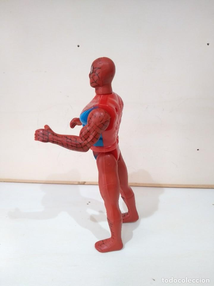 Figuras y Muñecos Marvel: MUÑECO ACCION BOOTLEG SPIDERMAN MARVEL - MUY DIFICIL - RARO - Foto 2 - 214261191
