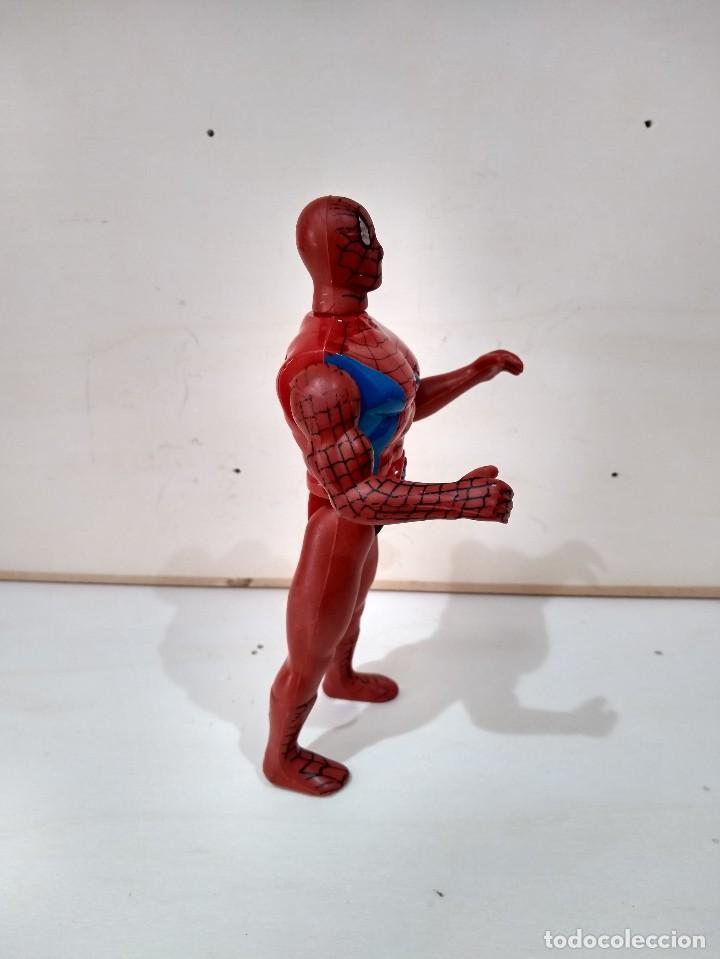 Figuras y Muñecos Marvel: MUÑECO ACCION BOOTLEG SPIDERMAN MARVEL - MUY DIFICIL - RARO - Foto 3 - 214261191