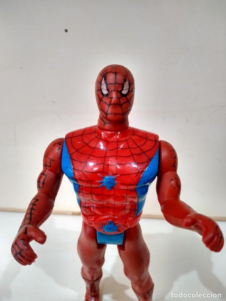 Figuras y Muñecos Marvel: MUÑECO ACCION BOOTLEG SPIDERMAN MARVEL - MUY DIFICIL - RARO - Foto 5 - 214261191