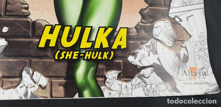 Figuras y Muñecos Marvel: BUSTO MARVEL - HULKA - Nº 50 - SUPERHÉROES MARVEL - COLECCION - 2019 - CON FASCÍCULO - Foto 4 - 215077497