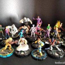 Figuras y Muñecos Marvel: LOTE DE 25 FIGURAS HEROCLIX X-MEN: LOBEZNO, CICLOPE, LA MOLE, JUGGERNAUT, EMMA FROST, MISTICA.... Lote 215543070