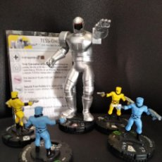 Figuras y Muñecos Marvel: LOTE DE 5 FIGURAS HEROCLIX I.M.A: ROBOT TESS ONE DE IMA.. Lote 215543277