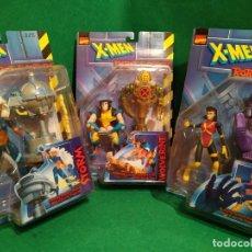 Figuras y Muñecos Marvel: LOBEZNO TORMENTA JUBILO WOLVERINE STORM JUBILEE NUEVO EN BLISTER ROBOT FIGHTERS TOY BIZ TOYBIZ. Lote 216375763