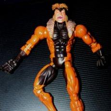 Figuras y Muñecos Marvel: MARVEL LEGENDS : DIENTES DE SABLE (SABRETOOTH) MUY ARTICULADA(18 CM.). Lote 216510843