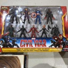 Figurines et Jouets Marvel: FIGURAS MARVEL CAPTAIN AMERICA CIVIL WAR MINIVERSE HASBRO NUEVAS EN SU CAJA. Lote 216725352