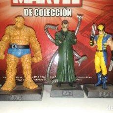 Figuras y Muñecos Marvel: FIGURAS MARVEL COMPLETA 140+2, EAGLEMOSS, PLANETA, ALTAYA, PLOMO, FIGURA Y FASCICULO.. Lote 217385166