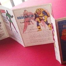 Figuras y Muñecos Marvel: CATALOGO MARVEL SUPER HEROES SECRET WARS - CON LA HISTORIA DE CADA SUPER HEROES MATEL, 70 X 7 CM. Lote 218526547