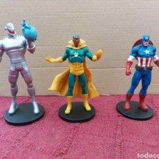 Figuras y Muñecos Marvel: FIGURA DE ACCIÓN-CAPITAN AMÉRICA, VISIÓN Y ULTRON, LOS VENGADORES, SUPER HEROES MARVEL. Lote 218593520