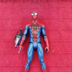 Figuras y Muñecos Marvel: FIGURA DE ACCIÓN SPIDERMAN ARTICULADA HASBRO MARVEL 2012 ELECTRÓNICO, SUPER HEROE COMIC Y PELÍCULA. Lote 219065888