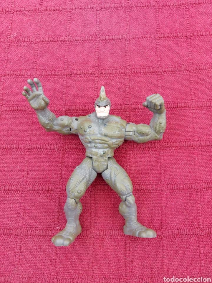 Figuras y Muñecos Marvel: FIGURA DE ACCIÓN RHINO TOY BIZ 1997 MARVEL ENEMIGO DE SPIDERMAN HEROE DE COMIC Y PELÍCULA - Foto 11 - 219183870